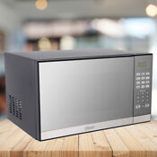 Oster 1 3 Cu Ft Microwave Oven With Grill Mirror Finish