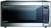 New Panasonic Stainless 1 6 Cu Ft Countertop Built In Microwave W Inverter