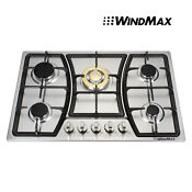 Used Seller Refurbish 30 Stainless Steel 5 Burner Gas Cooktops Cooker