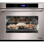 Dacor Renaissance 30 4 8 Cu Ft Single Ss Electric Convection Wall Oven Ro130s