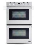 Dcs Wodu30 30 Double Electric Wall Oven With Convection Stainless Steel