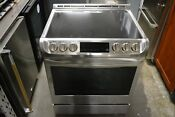 Lg 30 Stainless Steel Slide In Pro Bake Convection Electric Range Lse4611st