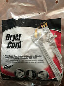 Clothes Dryer Power Cord 30 Amp 4 Foot 3 Prong 125 250v New