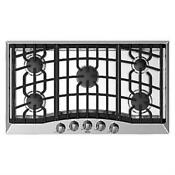 Viking 36 5 Permanently Sealed Burners Stainless Gas Cooktop Rvgc3365bss