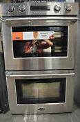 Dcs 30 Stainless Steel Double Electric Convection Wall Oven Wodv230