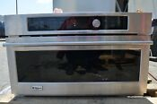 Monogram 30 Stainless Steel Convection Electric Advantium Wall Oven Zsc22