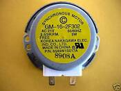 Lg Microwave Oven Turntable Motor Ms3444dps Ms3445dps Ms3446vr Ms3446vrb