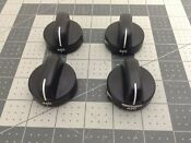 Whirlpool Range Oven Control Knobs Set Of 4 8053601 8053595 8053598 Wp8053595