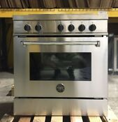 Bertazzoni Mas304insxt 30 Stainless Freestanding Induction Range Stainless