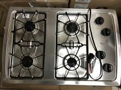 Whirlpool W3cg3014xs 30 In Stainless Steel Gas Cooktop Excellent