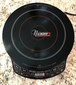 Nuwave 2 Precision Induction Cooktop 12 1 4 Diameter Manual Cookbook Dvd