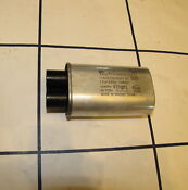 Ge Profile Spacemaker Microwave Oven Jvm1490sh H V Capacitor