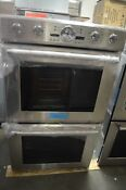 Thermador 30 Stainless Steel Double Electric Convection Wall Oven Podc302j