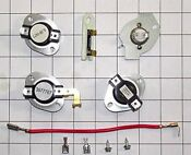 Dryer Fuse Thermostat Kit For Whirlpool Kenmore Sears Contains Part Numbers