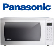 Panasonic Nn Sn736w White 1 6 Cu Ft Countertop Microwave Oven With Inverter