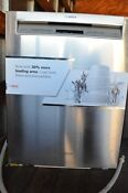 Bosch 300 24 Stainless Steel Built In Recessed Handle Dishwasher She863wf5n