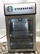 Starbucks Light Up Mini Fridge Cooler Loud