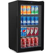Compact Beverage Fridge Cooler Wine Bottle Can Beverage Chilling Refrigerator