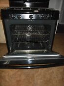 Kenmore Gas Stove Black