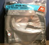 Ace 4188033 Fit All Washing Machine Drain Hose 1 I D X 5 Free Shipping