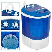 Mini Portable Washing Machine Top Load Washer W Double Knobs Timer Control