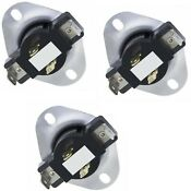 3 Pk 3387134 Dryer Thermostat Fits Whirlpool Kenmore Sears Roper L155 Ap3131939
