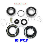 Maytag Neptune Quality 10pc Bearings Seals Kit Fits Front Loader 12002022