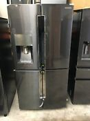 Samsung Rf23j9011sg 36 Black Stainless Steel French Door Refrigerator 75435