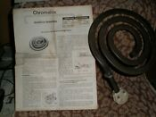 New Chromalox Vintage Range Stove71 2 In Burner Heating Element