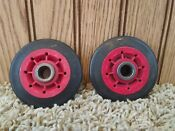 Kenmore Dryer Roller Support Wheels Red 8536973 Wpw10314173