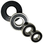 Hqrp Bearing Seal Kit For Ge Gcv Gfw Wbv Wcv Whd Series Front Load Washer Tub