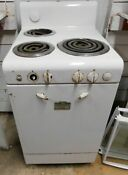 1940 S Gm Frigidaire 3 Burner Ceramic Finish Electric Stove