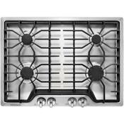 Frigidaire Ffgc3026ss 30 In Gas Cooktop In Stainless Steel With 4 Burners