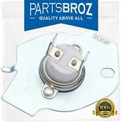 3977393 Thermal Fuse For Whirlpool Kenmore Dryers By Partsbroz Replaces P