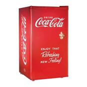 Coca Cola Series 3 2 Cu Ft Compact Refrigerator With Freezer By Nostalgia Shop