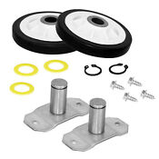 Dryer Roller Shaft Kit Fits Admiral Magic Chef Maytag Norge New 31001096 La 1008