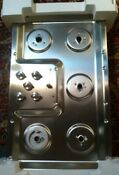Brand New 36 Ge Profile Stainless Steel 5 Burner Sealed Gas Cooktop