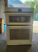 Woc54ec0aw Whirlpool 30 5 0 Cu Ft Combination Microwave And Wall Oven Mint