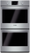 Bosch Hbl5651uc 500 Series 30 Inch Double Electric Wall Oven Stainless Steel