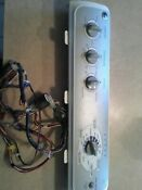 Ge Washing Machine Whre5550k2ww Complete Top Control Panel