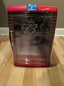 Rare Budweiser Mini Bar Beer Fridge Promotional Refrigerator Anheuser Busch