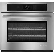 Jenn Air 27 3 4 Cu Ft Stainless Single Electric Convection Wall Oven Jjw2427ws
