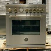 Bertazzoni Master Series Mast305gasxe 30 Inch Gas Range With 5 Aluminum Burners
