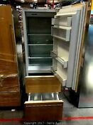 Sub Zero 700tc 27 Refrigerator Freezer Custom Panel Right And Left Hinge