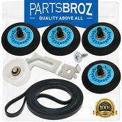 Dryer Repair Kit For Samsung With Dc97 16782a Drum Support Rollers By Partsbroz