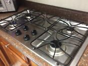 Ge 36 Inch 4 Burner Stainless Steel Gas Cooktop