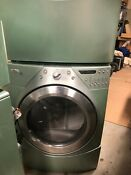 Whirlpool Washer Dryer Natural Gas Dryer Mint Green With Storage Drawers