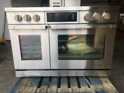 Dacor Dyrp48ds Ng 48 Slide In Dual Fuel Range With True Convection Ss