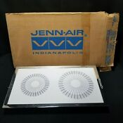 Jenn Air Model 888946 887847 White Glass Top Electric Stove Cartridge 3 Blade