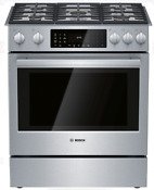 Bosch Hdip056u Benchmark Series 30 Inch Slide In Dual Fuel Range With 5 Burners